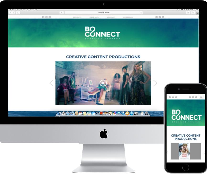 BoConnect Website